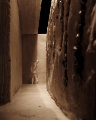 Interior meditation corridor